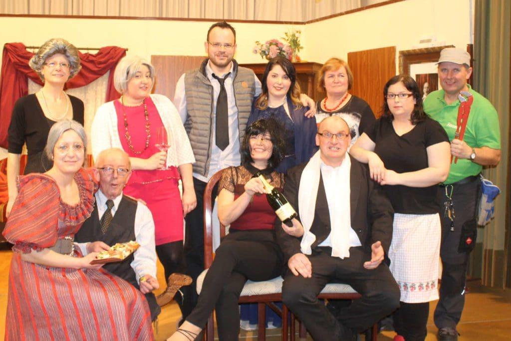 Theatergruppe der Pfarre Pulkau